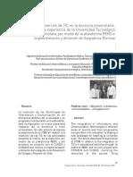 Inserción de TIC en La Docencia Universitaria
