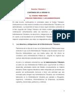 CODIGO TRIBUTARIO ADMINISTRACION Y ADMINISTRADOS