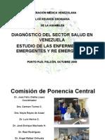 10 Presenta Ponencia Central SALUD en VENEZUELA