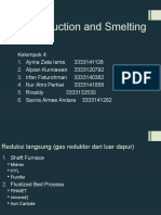 Direct Reduction and Smelting Process