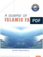 A GLIMPSE OF ISLAMIC ISLAMIC