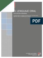 El Lenguaje Oral en E. Primaria