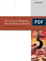 Five Forces Shaping Banking