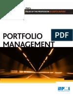 PMI Portfolio Management