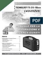 Manuale Riparazione Telwin - Prestige210a