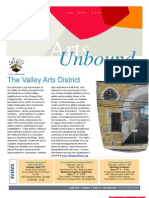 Arts Unbound Newsletter, April 2010