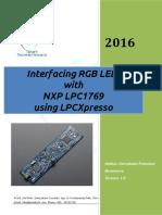 Interfacing RGB LED with LPC1769