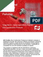 fastener failure