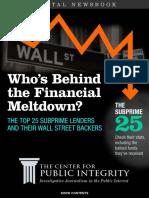 The Financial Meltdown