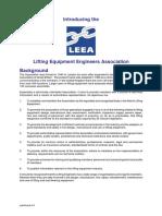 Introducing the LEEA