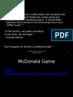 Class 1 -Marketing Overview