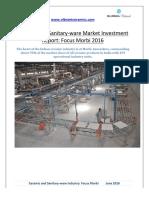 Report Ceramic and Sanitaryware Focus Morbi 2016