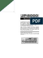 JP 8000 Manual