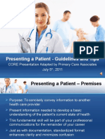 2011- Patient Presentation (1)