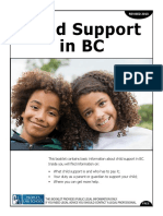 English Child Support in BC 2014 Online