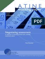 KLEIMAN(2007)Negotiating-Assessment.pdf