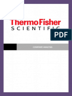 ThermoFisher Company Analysis