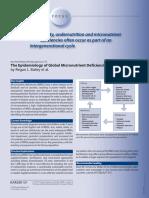The Epidemiology of Global Micronutrient Deficiencies by Regan Bailey et al