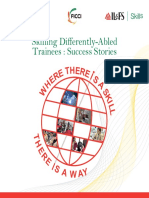 Skilling Differently Abled Trainees