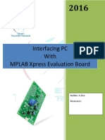 MPLAB Xpress Evaluation Board Serial_monitor