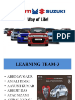 Presentation on Print Adv of Maruti