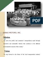 SARAO MOTORS, INC.pptx