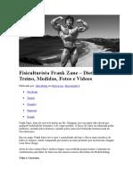 Fisiculturista Frank Zane