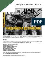 Variação de Freqüência Para Grupos Musculares