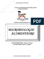 Microbiologie Cours AnaMICROBIOLOGIE COURS ANALYSE DES ALIMENTSlyse Des Aliments