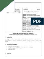 Nota de Instrução - Aspirantes 2014
