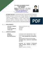 Curriculum Gorky Ramos