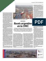2014.09.02 Reves Argentino en La OMC