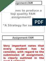 FAM Assignment FAM Robert 4