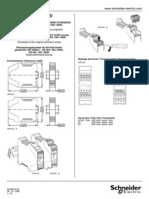 XPS-AF / Series B: FR EN DE on