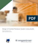 SysML Inverted Pendulum System