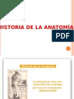 History de La Anatomia 2012