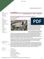 Notícia - Portal EAreform Shopping Climatizaçao