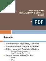 Indian Regulatory Overview