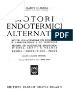 Motori Endotermici Alternativi - Ing Dante Giacosa - IV Ed - 1947