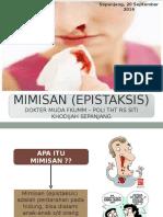 Penyuluhan epistaksis