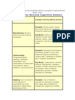The Cognitive Domain Involves Knowledge and the Development of Intellectual Skills