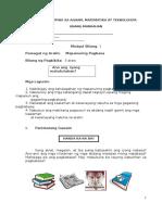 Mapanuring Pagbasa Module Revised