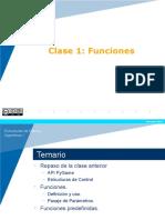 Clase 1 Funciones Python