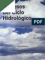 Procesos del Ciclo Hidrologico, Campos Aranda