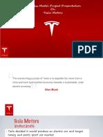 TESLA - Business Model
