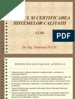 Auditul Si Certificarea