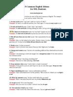 6066201 25 Common English Idioms