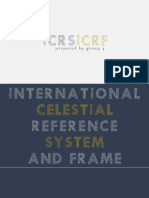 ICRS and ICRF