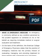 1 Emergency Med