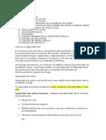 Seguridad Vial, Publica - Salud Ocupacional